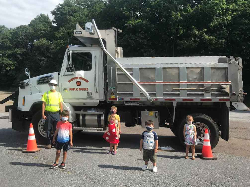 "Kingston Township's Road Crew Supervisor visit's I""m Big Now Learning Center"